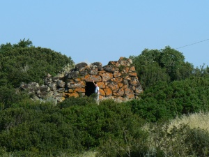 3500 years old Nuraghe (Tower built by the Nuraghic civilisation).