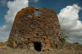 Nuraghe Ruiu,on the main road to Sassari. Built later than the one on our property.