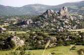 """The """"Moon valley / vale Della Luna"""" near Tempio."""