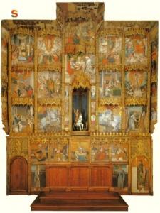 Unique 16th century retablo : guided visit in Santa Maria degli angeli church