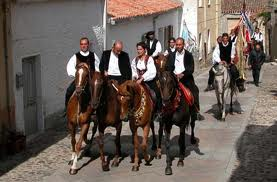 Horse procession for St Isidoro