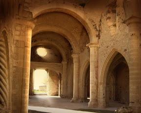 Beautiful ruins of San Pantaleo Church in Martis.