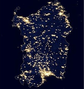 Night time Sardinia