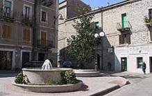 In Tempio centre, a little piazza