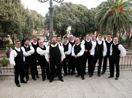 traditionnal male choir