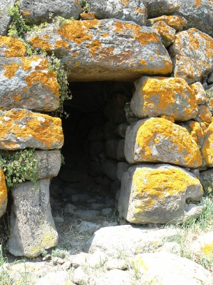 Entrance to the Nuraghe