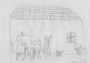 Villa Nuraghe drawing