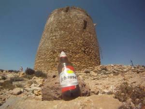 spanish tower ichnusa