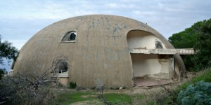 Abandonned dome on Costa Paradiso resort