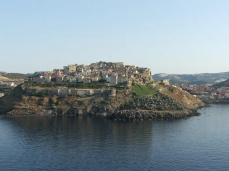 Castelsardo' hill and castle