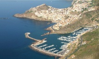 Castelsardo and its marina