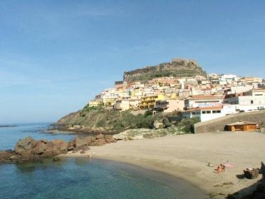 Castelsardo' s main town beach